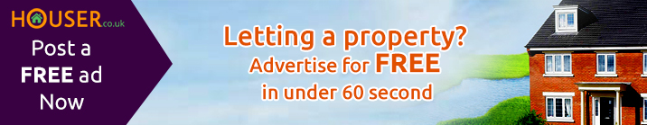 Letting a property ? Advertise for free in under 60 second